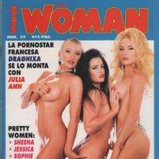 Coleccionismo de Revistas y Periódicos: PRETTY WOMAN MAGAZINE # 33 / 1994 ~DRAGUIXA~JULIA ANN~VICTORIA PARIS~TIFFANY MINX~ROXANNE BLAZE. Lote 46907080