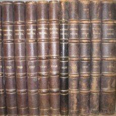 Coleccionismo de Revistas y Periódicos: REVISTA INGENIERIA TEXTIL ENCUADERNADA EN 11 TOMOS.DESDE MAYO 1944 A DICIEMBRE DE 1954.. Lote 46915361