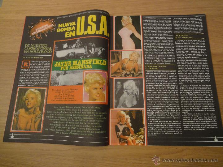 Coleccionismo de Revistas y Periódicos: Revista PEN # 33 / 1980 ~ JAYNE MANSFIELD ~ BARBARA MOOSE - Foto 3 - 46959138
