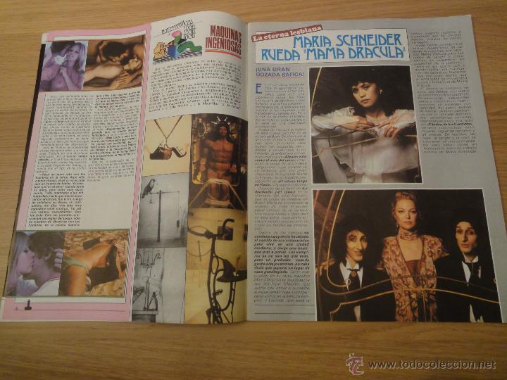 Coleccionismo de Revistas y Periódicos: Revista PEN # 38 / 1980 ~ MARIA SCHNEIDER - Foto 2 - 46959344