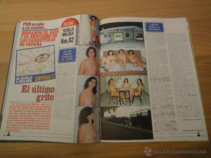 Coleccionismo de Revistas y Periódicos: Revista PEN # 38 / 1980 ~ MARIA SCHNEIDER - Foto 5 - 46959344
