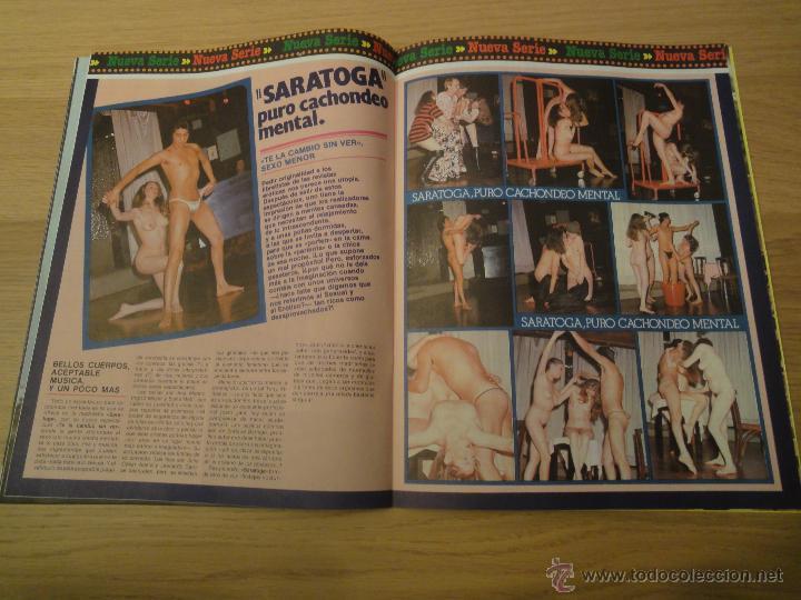 Coleccionismo de Revistas y Periódicos: Revista PEN # 38 / 1980 ~ MARIA SCHNEIDER - Foto 6 - 46959344