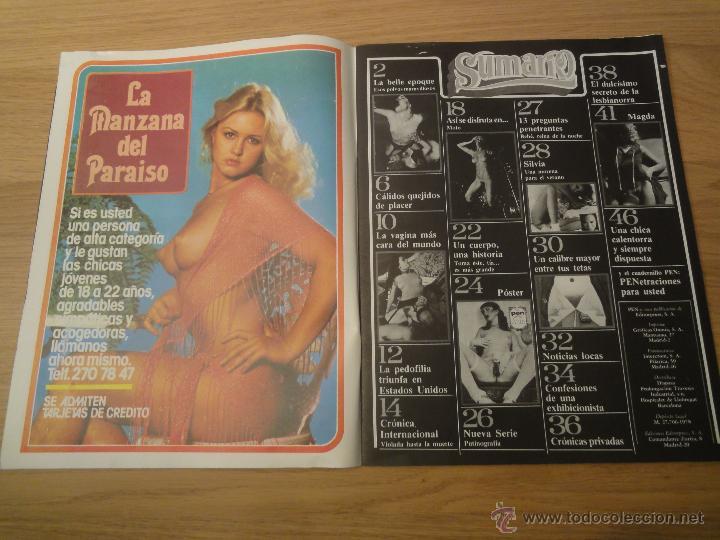 Coleccionismo de Revistas y Periódicos: Revista PEN # 69 / 1982 ~ SILKE SAILER ~ BRIGITTE LAHAIE - Foto 4 - 46964774