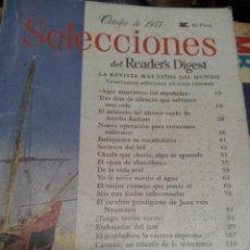 Coleccionismo de Revistas y Periódicos: SELECCIONES READER'S DIGEST OCTUBRE 1957. Lote 46966009