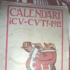 Coleccionismo de Revistas y Periódicos: CALENDARIO REVISTA CU CUT CU-CUT 1912 CALENDARI 115 PAG. Lote 46973070