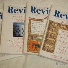 Coleccionismo de Revistas y Periódicos: CUATRO TOMOS DE NUEVA REVISTA DE POLITICA,CULTURA Y ARTE AÑO 1998. Lote 47005401