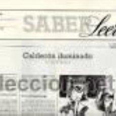 Coleccionismo de Revistas y Periódicos: SABER LEER Nº 2-20 (FEBRERO 1987 - DICIEMBRE 1988). Lote 47026145