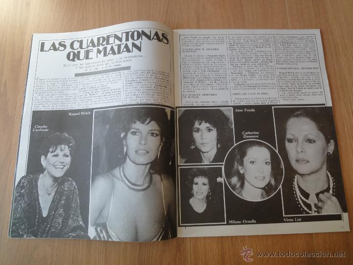 Coleccionismo de Revistas y Periódicos: Revista PEN # 5 / 1982 ~ JANE WARNER ~ HELEN FERGUSON ~ BRIGITTE LAHAIE - Foto 4 - 47123088