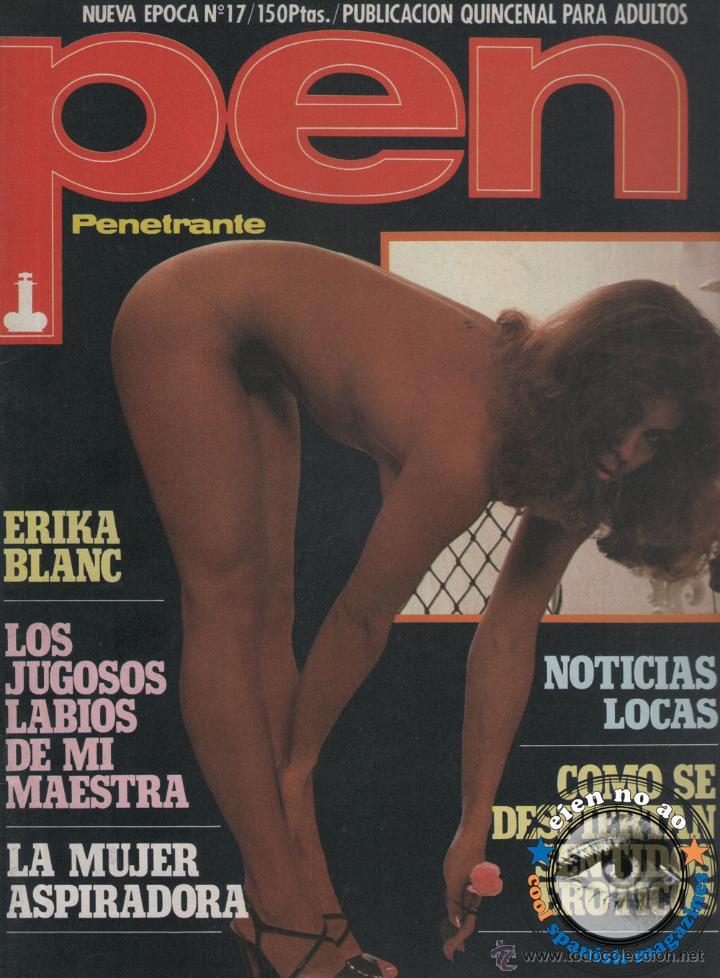 REVISTA PEN # 17 / 1983 ~ BRIGITTE LAHAIE ~ JILLY JOHNSON ~ SADOMASOQUISMO ~ GRETA ANDERSEN (Coleccionismo - Revistas y Periódicos Modernos (a partir de 1.940) - Otros)