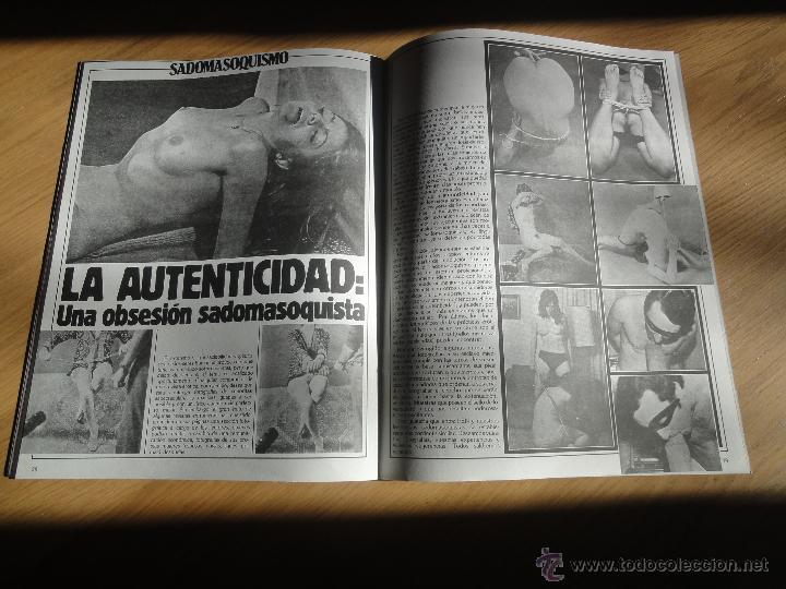 Coleccionismo de Revistas y Periódicos: Revista PEN # 17 / 1983 ~ BRIGITTE LAHAIE ~ JILLY JOHNSON ~ Sadomasoquismo ~ GRETA ANDERSEN - Foto 12 - 47145736