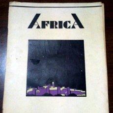 Coleccionismo de Revistas y Periódicos: ANTIGUA REVISTA AFRICA DE AGOSTO 1935, FUE SUCESORA DE LA REVISTA DE TROPAS COLONIALES (CEUTA 1924),. Lote 47175702