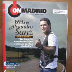 Coleccionismo de Revistas y Periódicos: 3 REVISTAS CON RESEÑAS DE ALEJANDRO SANZ. AÑO 2007 Y 2009. (VER DETALLE). Lote 47186235