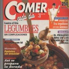 Coleccionismo de Revistas y Periódicos: REVISTA COMER CADA DIA. Lote 47208972