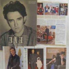 Coleccionismo de Revistas y Periódicos: RAMONCIN LOTE DE FOTOS, ARTÍCULOS, VARIOS RECORTES, REPORTAJES. Lote 47211651