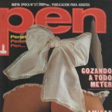 Coleccionismo de Revistas y Periódicos: REVISTA PEN # 37 / 1984 ~ LISA DE LEEUW ~ SADOMASOQUISMO. Lote 47238003