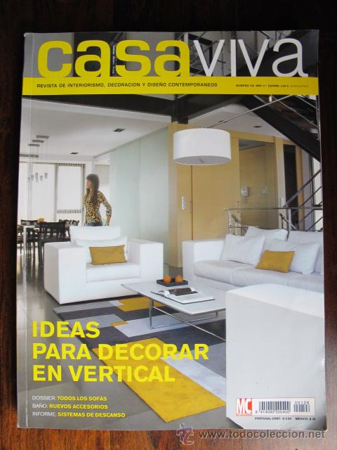 Revista casa y decoracion fabulous composicin imagen en - Casa viva decoracion ...