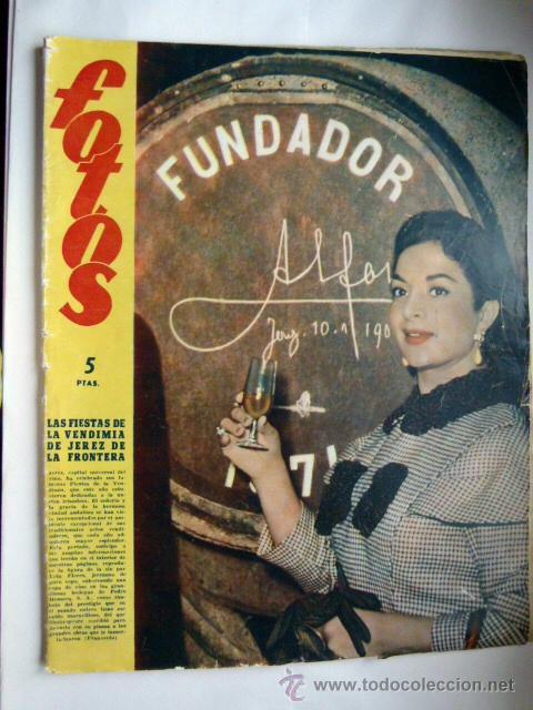 SEMANARIO GRAFICO FOTOS 1958 (Coleccionismo - Revistas y Periódicos Modernos (a partir de 1.940) - Otros)