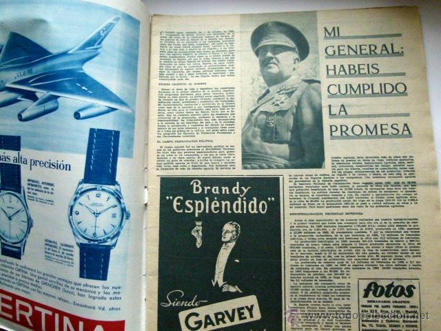 Coleccionismo de Revistas y Periódicos: Semanario grafico FOTOS 1958 - Foto 2 - 47288906