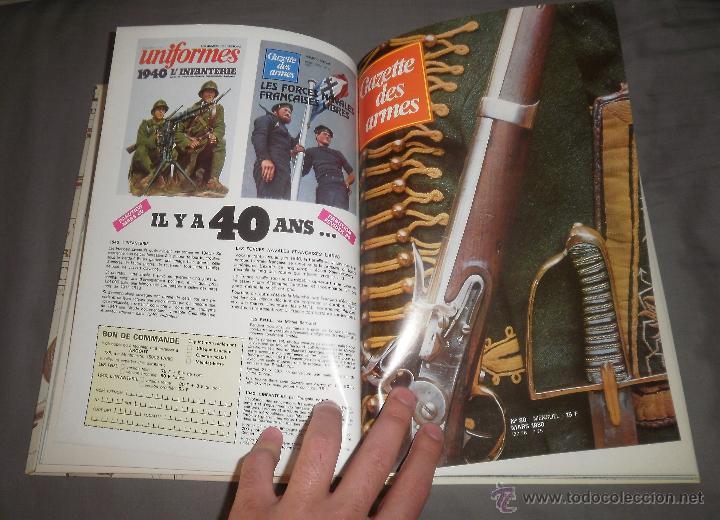 Coleccionismo de Revistas y Periódicos: Revista Gazette des Armes. Álbum Nº 13 (Nºs 78 a 83), 1980 - Foto 2 - 47293745