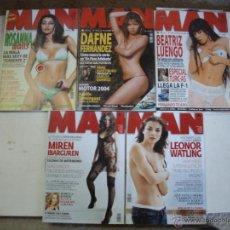 Coleccionismo de Revistas y Periódicos: LOTE 16-REVISTAS MAN FAMOSAS ESPAÑOLAS 5 UNIDADES.. Lote 47297196