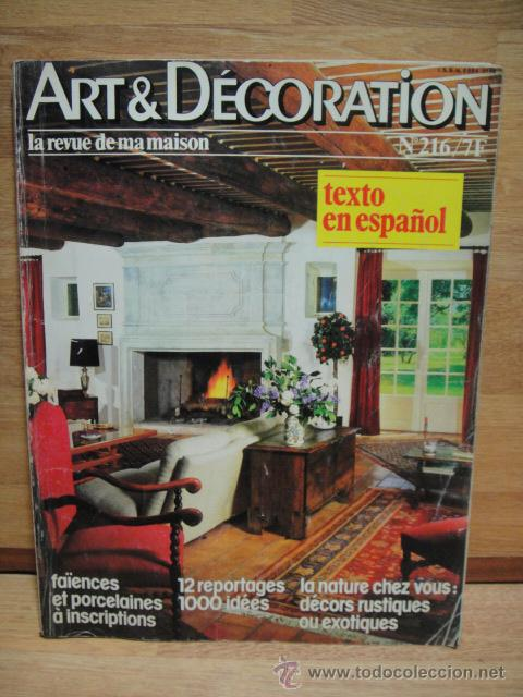 Decoracion Revistas Revista De Decoracion Francesa Art U