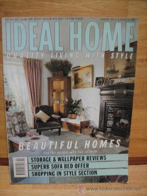 revista decoracion ideal home inglesa coleccionismo revistas y peridicos modernos a partir - Revistas De Decoracion