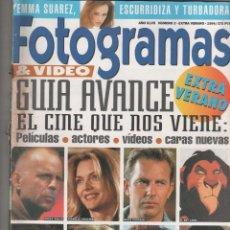 Coleccionismo de Revistas y Periódicos: REVISTA FOTOGRAMAS. Lote 47322409