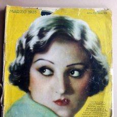 Coleccionismo de Revistas y Periódicos: LECTURAS MARZO 1935 Nº 166 EMILIA PARDO BAZAN,. Lote 47333270