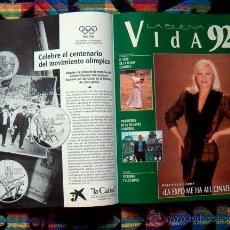 Coleccionismo de Revistas y Periódicos: REVISTA PANORAMA / RAFFAELLA CARRA, MIGUEL INDURAIN. Lote 47405733