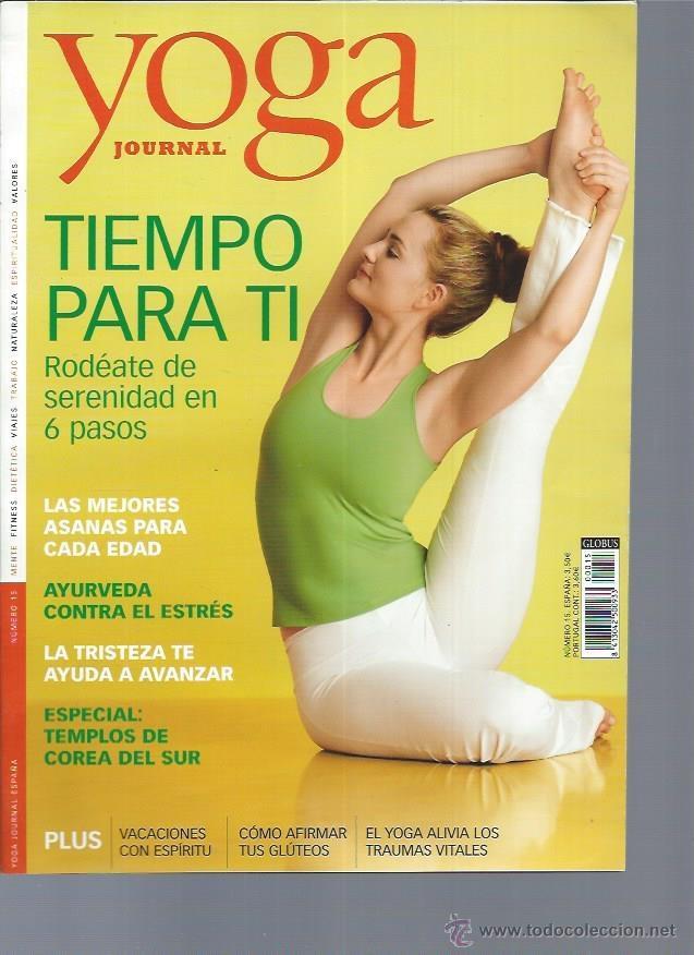Yoga Journal Nº 15 Mente Fitness Dietética Via Comprar Otras