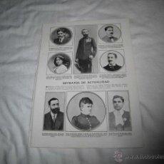 Coleccionismo de Revistas y Periódicos: EL CAPITAN ENRIQUE OVILO Y CASTELLO CENTRO HOJA REVISTA BLANCO Y NEGRO 1911. Lote 47468990