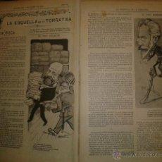 Coleccionismo de Revistas y Periódicos: LA ESQUELLA DE LA TORRATXA 1903 - AÑO COMPLETO EN 1 TOMO. Lote 47478675