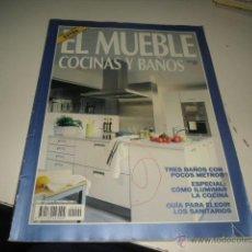 Coleccionismo de Revistas y Periódicos: REVISTA EL MUEBLE COCINAS Y BAÑOS . Lote 47517436
