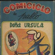 Coleccionismo de Revistas y Periódicos: COMICICLO Nº.27, DOÑA URSULA DE PABLO,. Lote 47537419