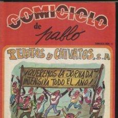 Coleccionismo de Revistas y Periódicos: COMICICLO Nº. 15, DE PABLO. PELOTAS Y CHIVATOS,S.A. . Lote 47537833