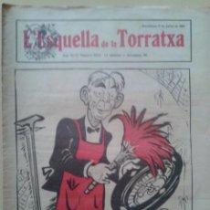 Coleccionismo de Revistas y Periódicos: REVISTA LA ESQUELLA DE LA TORRATXA. ANY 46 NUM. 2316 BARCELONA 27 JULIOL 1923 . Lote 47581440