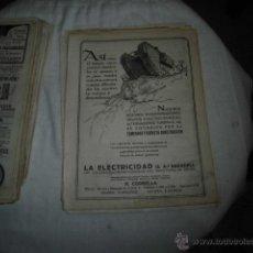 Coleccionismo de Revistas y Periódicos: LA ELECTRICIDAD S.A. SABADELL.TALLERES ELECTROMETALURGICOS,ANIS DIANAHOJA REVISTA NUEVO MUNDO 1921. Lote 47607098