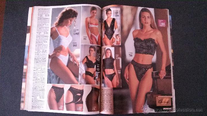 56d5223d6642 REVISTA CATALOGO VENCA-ESTEFANIA LUYK-OTOÑO-INVIERNO 1992-1993-LENCERIA