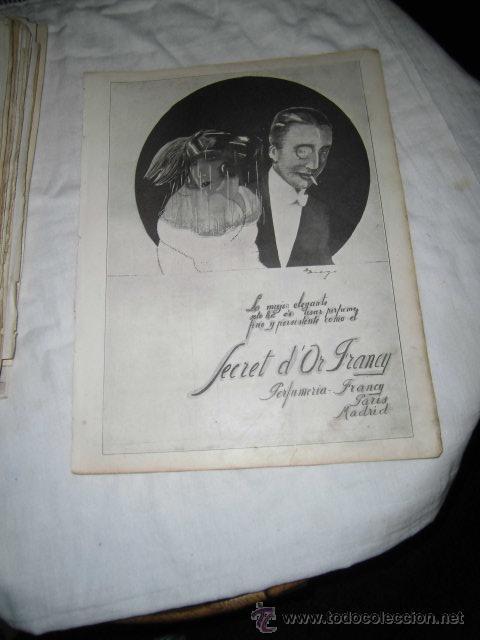 SECRET D`OR FRANCY/EVERSHARP PLUMA Y LAPICERA/PUBLICIDAD VARIADA HOJA REVISTA NUEVO MUNDO 1922 (Coleccionismo - Revistas y Periódicos Modernos (a partir de 1.940) - Otros)