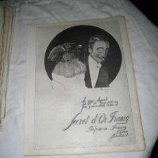 Coleccionismo de Revistas y Periódicos: SECRET D`OR FRANCY/EVERSHARP PLUMA Y LAPICERA/PUBLICIDAD VARIADA HOJA REVISTA NUEVO MUNDO 1922. Lote 47624382