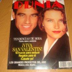 Coleccionismo de Revistas y Periódicos: DUNIA FEBRERO 1990. Lote 47630644