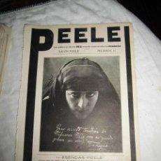 Coleccionismo de Revistas y Periódicos: PUBLICIDAD DE ESENCIAS PEELE POR TANAGRA/PLUMAS EVERSHARP/THEOBROMINA HOJA REVISTA NUEVO MUNDO 1922. Lote 47654645