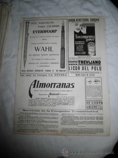 Coleccionismo de Revistas y Periódicos: PUBLICIDAD DE ESENCIAS PEELE POR TANAGRA/PLUMAS EVERSHARP/THEOBROMINA HOJA REVISTA NUEVO MUNDO 1922 - Foto 2 - 47654645