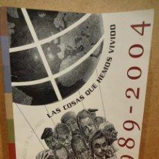 Coleccionismo de Revistas y Periódicos: EL MUNDO. 15 ANIVERSARIO. LAS COSAS QUE HEMOS VIVIDO. 458 PÁGINAS DE ILUSTRACIONES. A ESTRENAR.. Lote 47707050