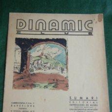 Coleccionismo de Revistas y Periódicos: DINAMIC CLUB BARCELONA - ESPORT I CULTURA - REVISTA N.2 FEBRERO 1935. Lote 47744867