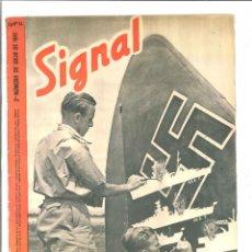 Coleccionismo de Revistas y Periódicos: SIGNAL. 2º NÚMERO DE JULIO DE 1941 Nº 14. Lote 47801845