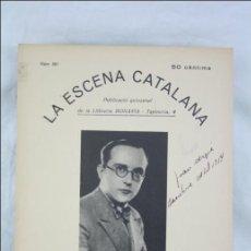 Antigua Publicación Teatro Catalán, Años 30 - La Escena Catalana Nº 381. El Molí Verd