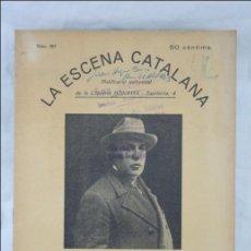 Antigua Publicación Teatro Catalán, Años 30 - La Escena Catalana Nº 359. Els Marquesos del Born