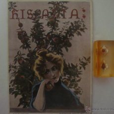 Coleccionismo de Revistas y Periódicos: REVISTA MODERNISTA HISPANIA N.81. JUNIO 1902.HERMENEGILDO MIRALLES. MUY ILUSTRADA. Lote 47859714