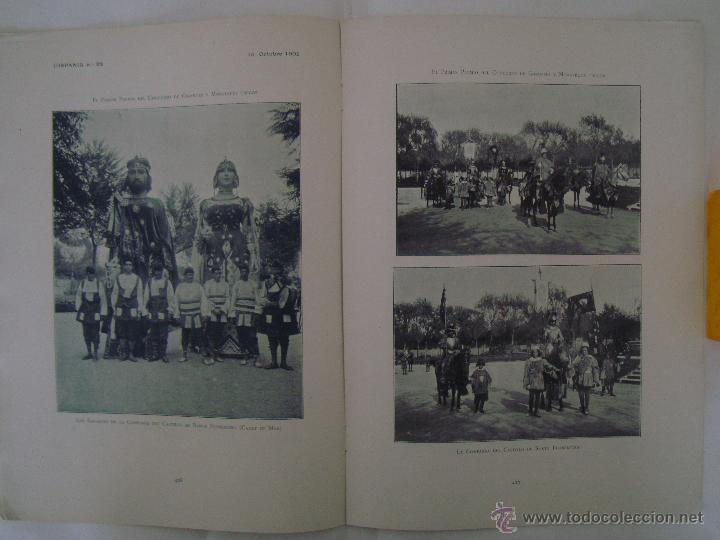 Coleccionismo de Revistas y Periódicos: REVISTA MODERNISTA HISPANIA N.88.OCTUBRE 1902.HERMENEGILDO MIRALLES.MUY ILUSTRADA - Foto 2 - 47862561